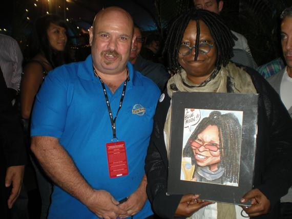 caricature-artist-steve-nyman-and-the-view-whoopi-goldberg-live-event