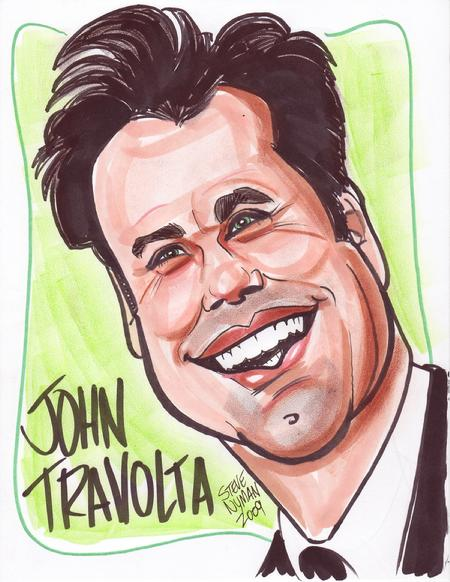 john-travolta-caricature