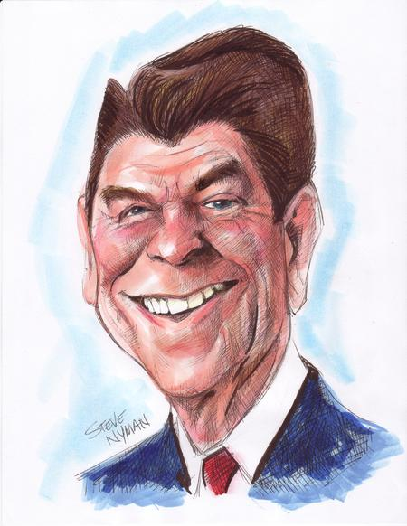 ronald-reagan-caricature